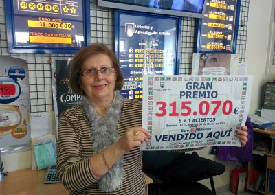 315.000€ 5+1 Euromillones